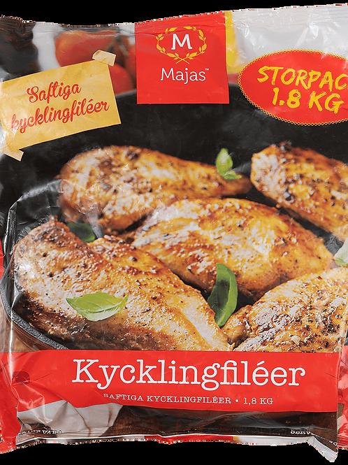 Kycklingbröstfilé 1,8kg Storpack