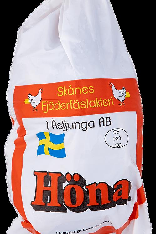 Svensk höna 800-1100g