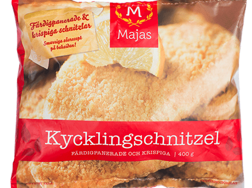 Kycklingschnitzel 400g