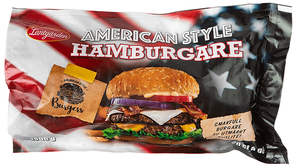 Hamburgare  American Style 20-pack