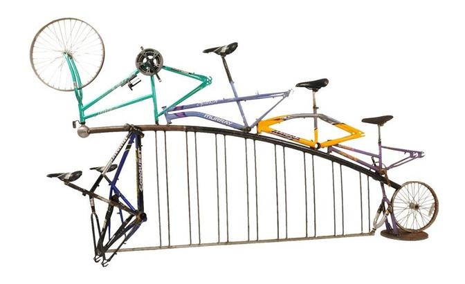 Greenway Bike Rack, Greensboro NC