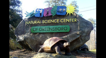 Natural Science Center Entrance Sign, Greensboro, NC