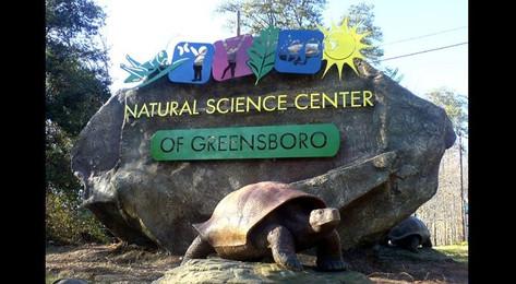 Natural Science Center Entrance Sign, Greensboro, NC