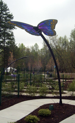Butterfly Shade Structure, Greensboro, NC