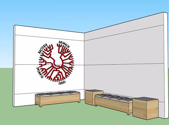 UNCG Wall sculpture