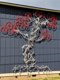 20' Bike Tree, Ashville NC