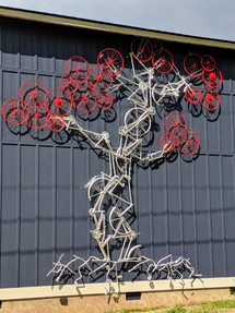 20' Bike Tree, Ashville NC