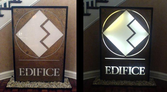 Edifice Lighted Sculpture, Charlotte NC