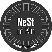 NeSt of Kin logo, Mindful talent music management, artist manager, A&R, Artist & Repertoire, publishing Publishings, Strategy & Development consulting agency career artistic by Vanessa Lenoble art