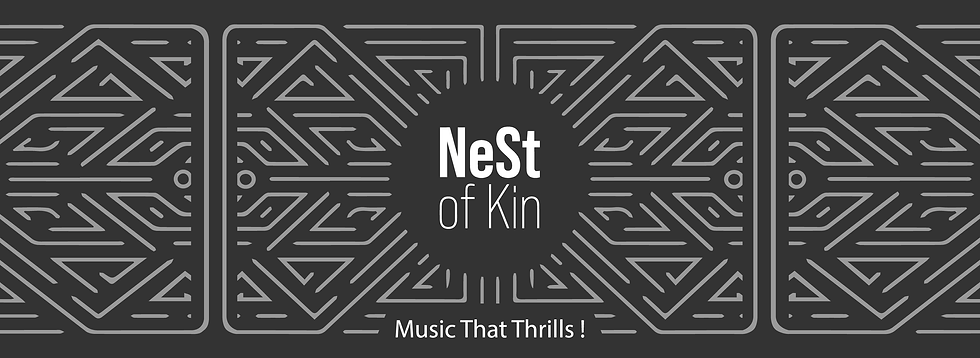 NeSt of Kin logo, Mindful talent music management, artist manager, A&R, Artist & Repertoire, publishing Publishings, Strategy & Development consulting agency career artistic by Vanessa Lenoble art ama alliance des managers d'artistes immf international music manager forum