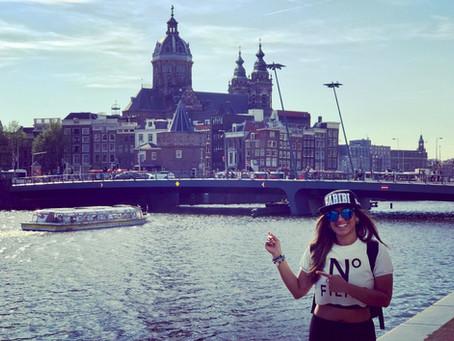 Amsterdam on 4/20!😊