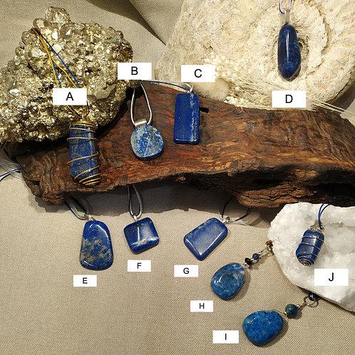 pendentif Lapis Lazuli E