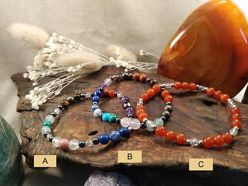 bracelet 7 chakras A