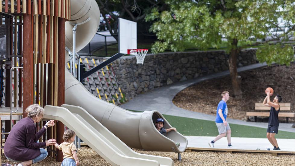 Home street Playground renewal