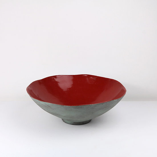 'Colour Me Bright' Deep Salad Bowl   By Clementina Van Der Walt