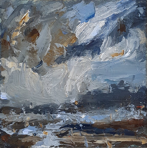 Turbulent Seas, Racing Clouds