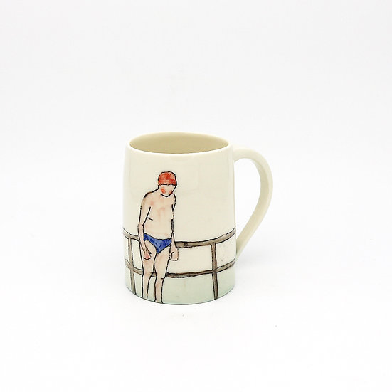 Swimmers Mug | By Helen Beard