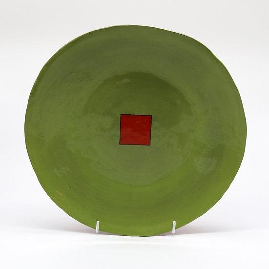 'Colour Me Bright' Plate | By Clementina Van Der Walt