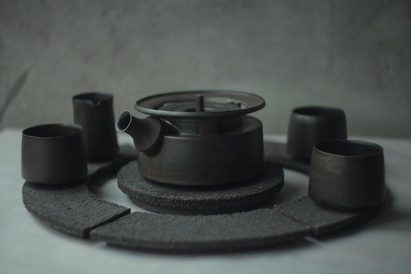 Teapot, Cup & Pourer Set | By Karl Sebastian