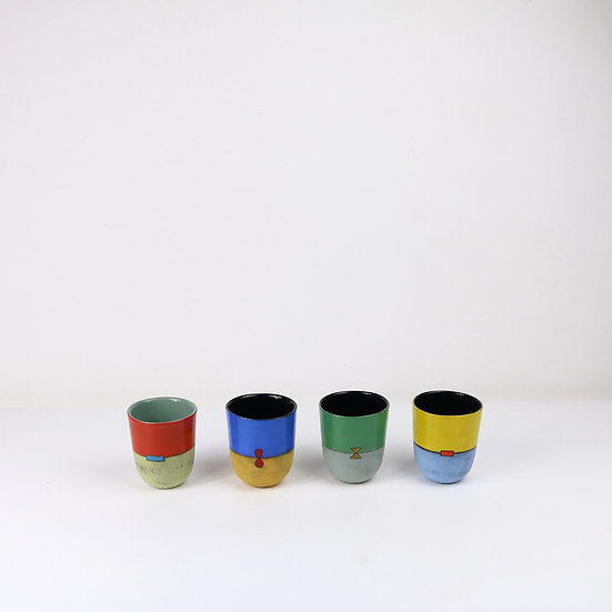 'Colour Me Bright' Small Cup   By Clementina Van Der Walt