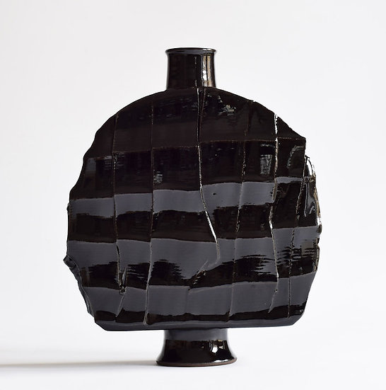 Tenmoku Faceted and Slabbed Bottle |By Adam Ross