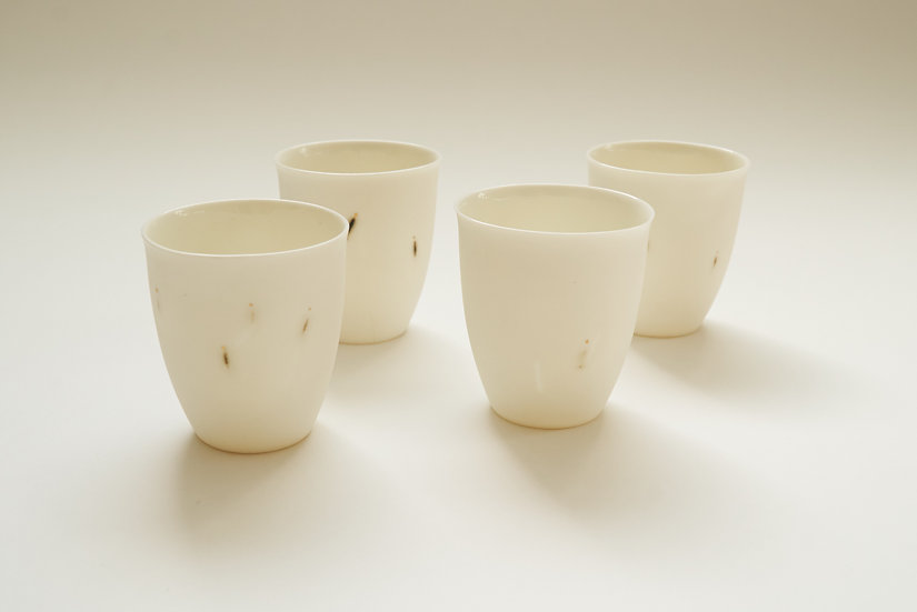Katherine Porcelain Small Cup | By The Light Forge