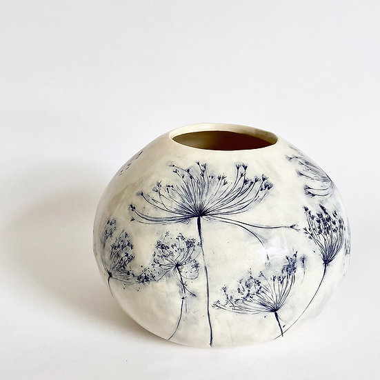 Cow Parsley Vase | By Zuleika Melluish