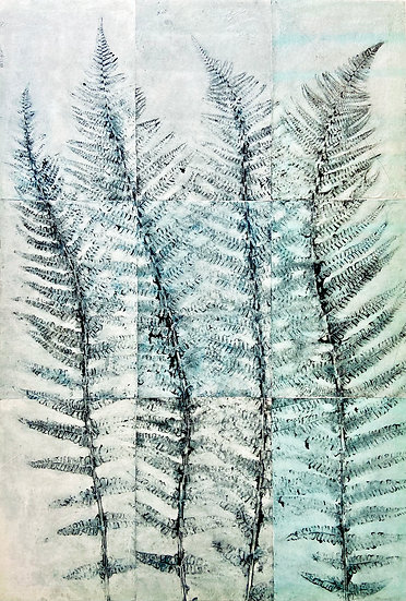 Bracken Tile Prints   By Zuleika Melluish