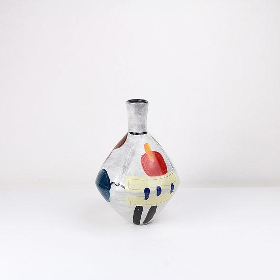 Painted Fusion Vase | By Clementina Van Der Walt