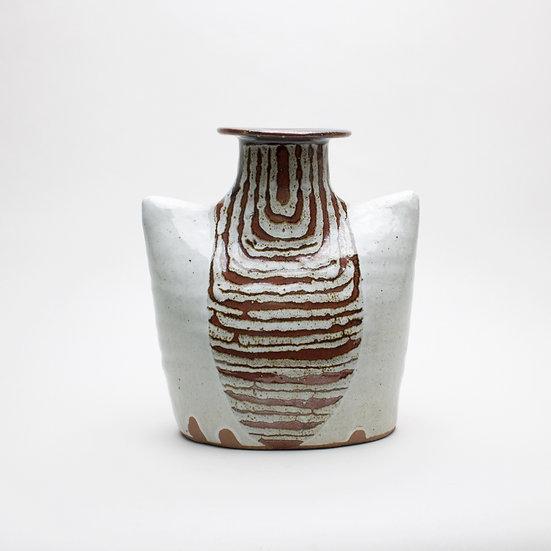 White Vase with Ten Dec | By Callum Trudgeon