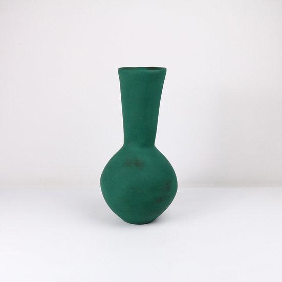 Teal Nomad Vase | By Clementina Van Der Walt