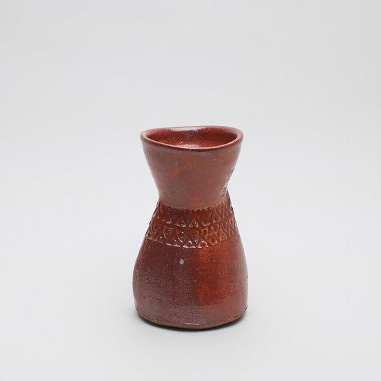 Squashed Stamped Vase | By Matt Foster
