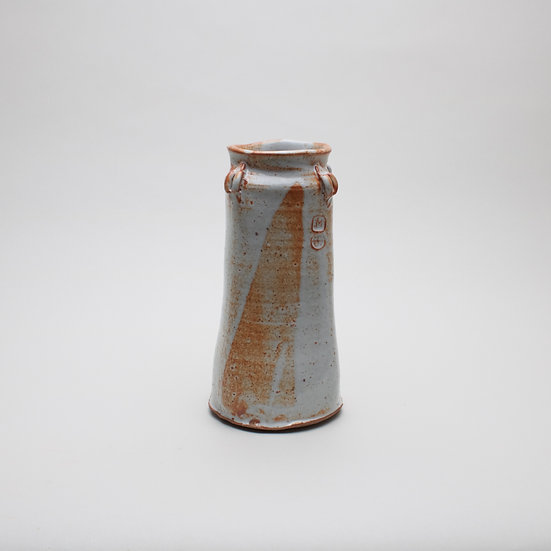 Medium Shino Squared Vase | By Matt Foster