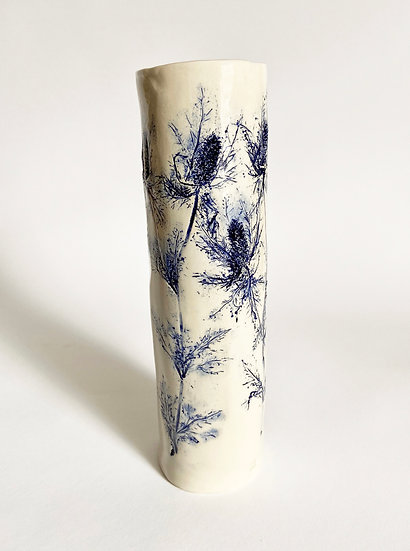 Sea Holly Cylinder | By Zuleika Melluish