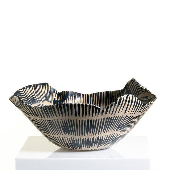Hand-Built Distorted Sculptural Vessel   By Karine Hilaire