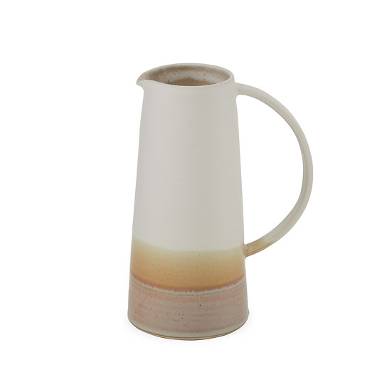 Rainbow Medium Jug - White/Stone | By Emma Lacey