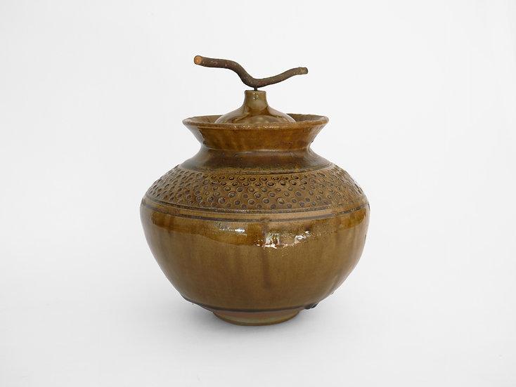 OmVed/Highgate Foraged Glaze Jar | By Joseph Ludkin