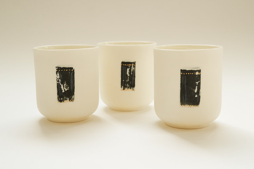 Porcelain Cup   By The Light Forge