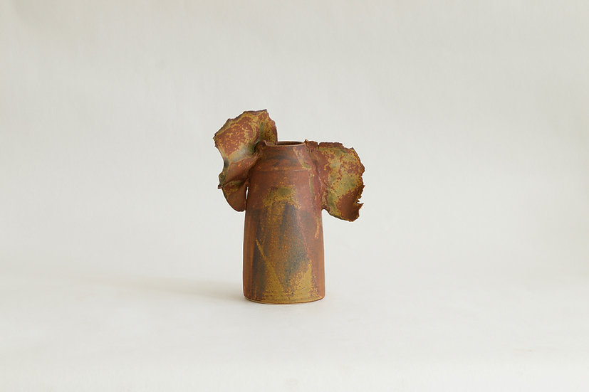 Camo Vase with Wings | By Karine Hilaire
