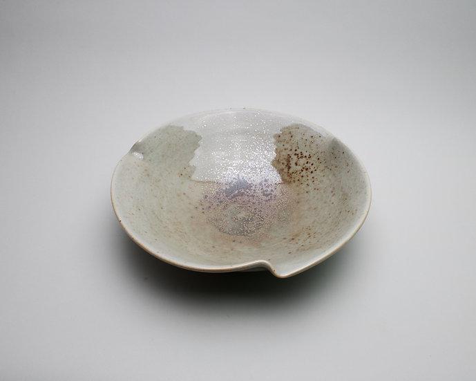 Shino Porcelain Bowl   By Britta James