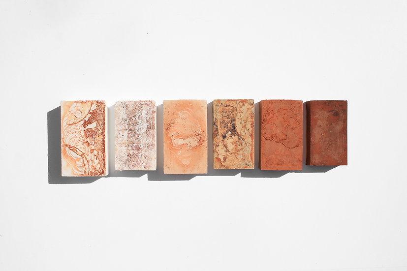 Rust Series Rectangles | By Nadire Gokmen
