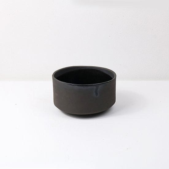 Black Stoneware Bowl | By Carla Sealey (aka Naked Clay Ceramics)