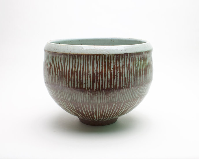 Large Decorated Bowl | By Roelof Uys