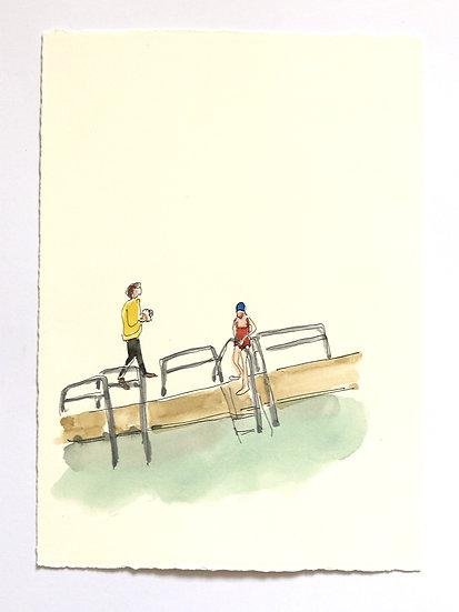 'The Ponds' Sketch | By Helen Beard