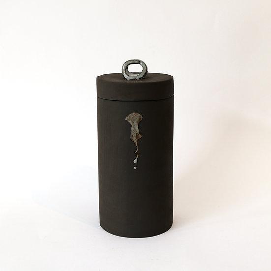 Lidded Jar with Handle   By Carla Sealey (aka Naked Clay Ceramics)