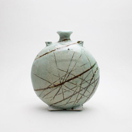 Celadon Bottle | By Laurence Eastwood