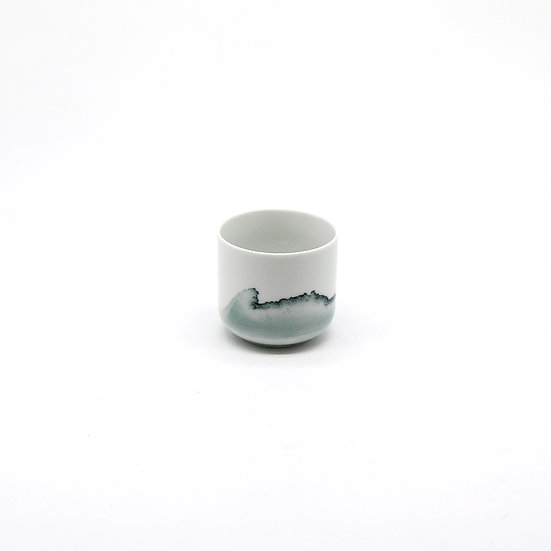 Small Tide Cup, Glazed Finish | By Anna Badur