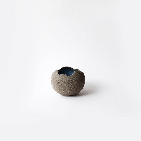 Vessel - Grey/Blue   By Lisa Ommanney