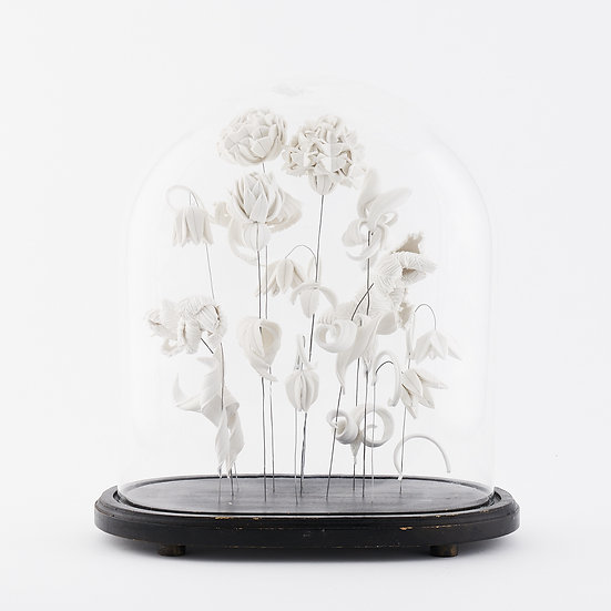 Large Dome with Ranunculus   By Isabel Dodd
