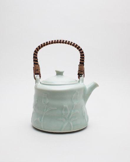 Celadon Teapot | By Britta James